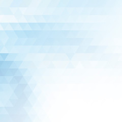 Abstract minimal banner or background with white and blue pixels.