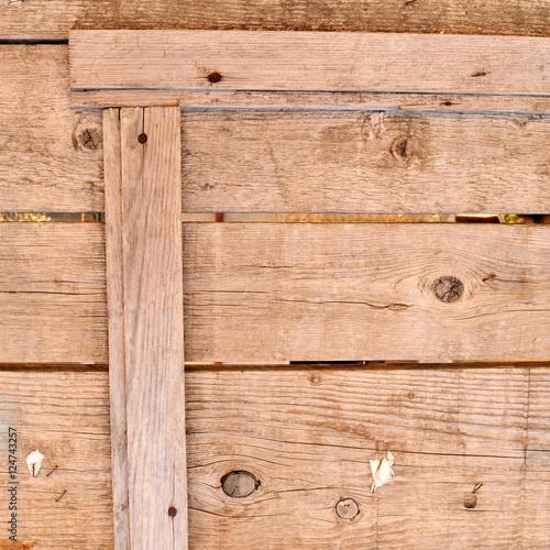 Vecchie tavole di legno con cornice quadrato fotos de for Vecchie tavole legno