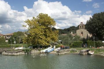 Lago Trasimeno, Perugia, Umbria, Italia