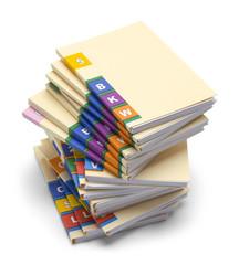 Medical Files Stack