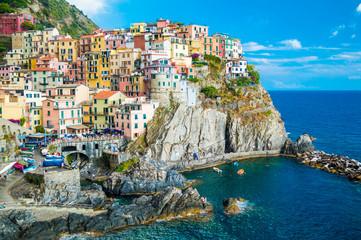 Keuken foto achterwand Liguria Manarola landscape, Cinque Terre, Italy