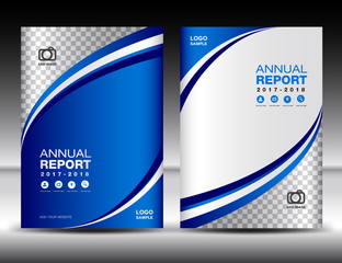 Search photos annual report cover blue cover template cover annual report cover design business wajeb