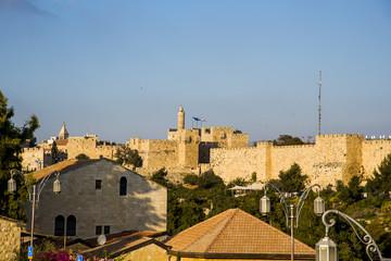 Jerusalem, castle, ancient, city