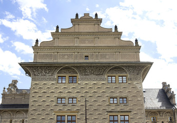 Schwarzenberg Palace in Hradcany, Czech Republic.