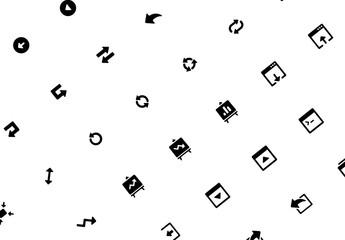 Ensemble d'icônes d'interface utilisateur