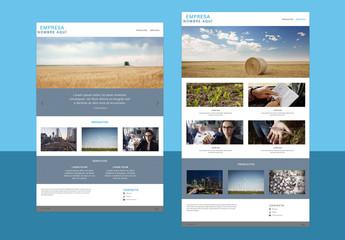 Diseños de sitio web sencillos