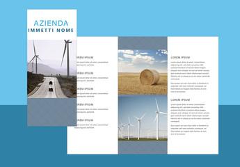 Layout brochure semplice