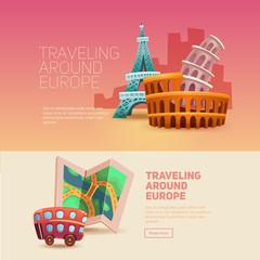Traveling around europe. Journey. Holiday. Photo.