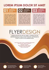 Modern Business Flyer - Brochure Template Design,