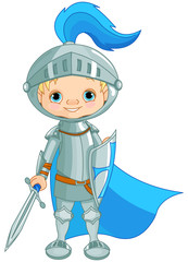 Poster Superheroes Brave Knight