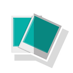 Paper of picture icon. Image photography digital and photo theme. Isolated design. Vector illustration