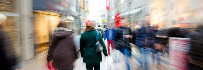 Header Shoppen in der Stadt mit Zoom