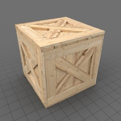 Crate Wooden 2