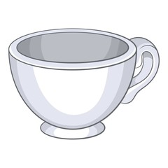 Cup icon. Cartoon illustration of cup vector icon for web