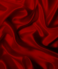 abstract luxury cloth or liquid folds of silk, texture satin velvet material or luxurious Christmas background or elegant wallpaper design,