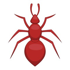Ant icon. Cartoon illustration of ant vector icon for web