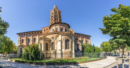 Basilica of Saint Sernin in Toulouse - France