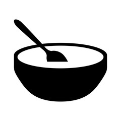 soup bowl icon image vector illustration design