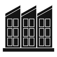 Building icon. Simple illustration of building vector icon for web