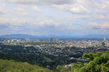 Top Viewpoint of  Hat Yai