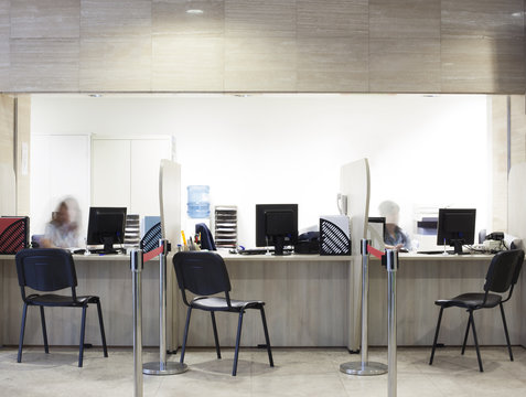 reception information center