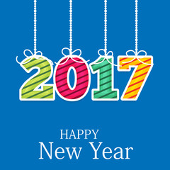 New Year 2017.
