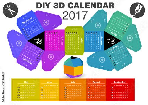 Diy Calendar Size : Quot d diy calendar a print inch compiled