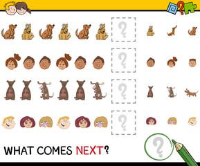educational pattern activity task