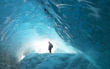 Vatnajökull glacier, Gletscher Höhle Island