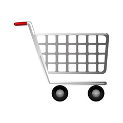 shopping cart icon image vector illustration design