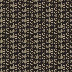 Sale Seamless Pattern Bakcground.
