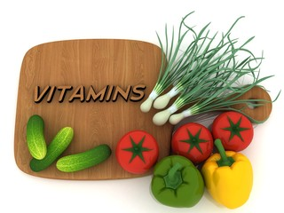 VITAMINS,VEGETABLES
