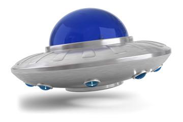 3d Ufo beim landen