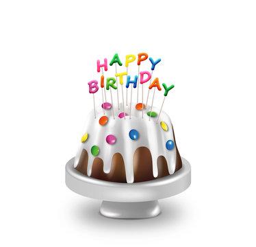 Geburtstagskuchen Happy Birthday