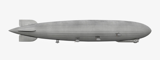 Zeppelin - Seitensnsicht