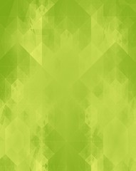 abstract pattern on green background