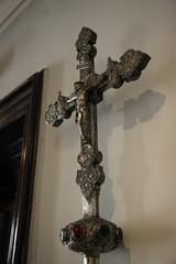 sword handle w jesus on cross