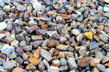gravel aggregate abstract background
