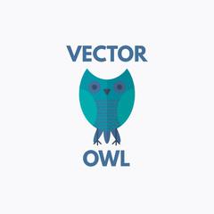 Vector Owl Emblem