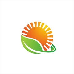 green leaves sun life logo