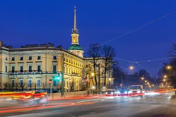 Keuken foto achterwand Madrid Mikhailovsky castle, Saint Petersburg, Russia