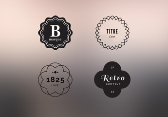 Kit de logos élégants