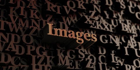 Images - Wooden 3D rendered letters/message.  Can be used for an online banner ad or a print postcard.