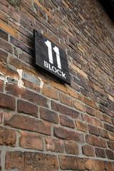 bldg 11 sign