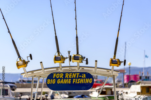 Big game fishing boat and equipment for rent fotos de for Fishing equipment rental