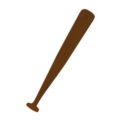 baseball bat icon image vector illustration design