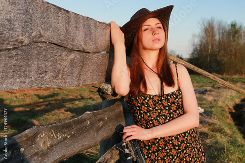 quotcowgirl hat naturequot stock photo and royaltyfree images