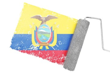 Composite image of ecuador national flag