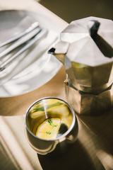 lemon toddy hot tea