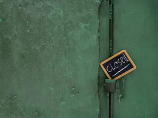Door Closed Message